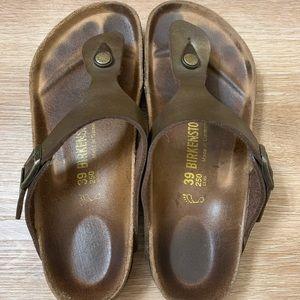 Birkenstock Shoes - Birkenstock Gizeh Birko-Flor — Women's 39